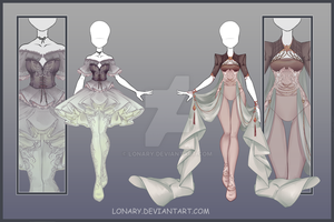 [Close] Design adopt_153-154 by Lonary