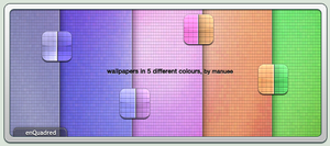 enQuadred Wallpapers by manuee