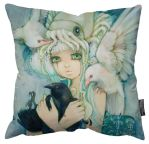 No Ordinary Love Pillow by camilladerrico