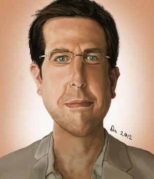 The Hangover: Stu Caricature by danb13