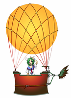 Ballooning by MillyT