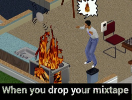 when you drop your Mixtape by SHIROI-NO-HEBI