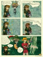 Master Sword in the Stone by HikariMichi