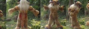 The beast from the labyrinth by ArtSlavefursuits