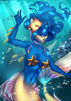 Mermaid Princess by NeylaTL