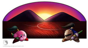 30 Day Kirby Challenge - 13 - Samurai Kirby by Celestia-Knight