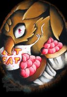 Five Nights at Freddy's - Chica Plaque by MadArtistParadise