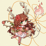 [RAFFLE CLOSED] Adopt 83: Rudolph by inkdrop-adopts