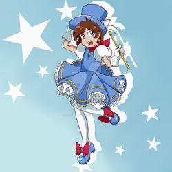 Card Captor Trucy! by yoshimarsart