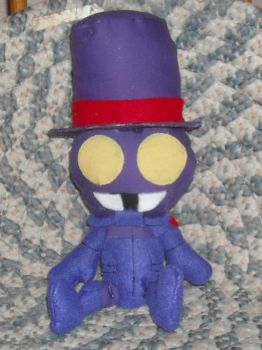 Superjail Soldier Chibi Plush by DonutTyphoon