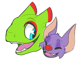 [Doodle] Yooka-Laylee by Cinderbutt