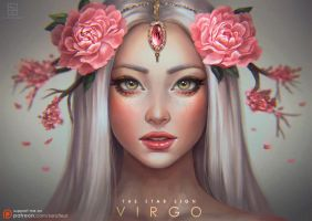 Virgo - The Star Signs by serafleur