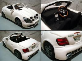 Mercedes SLK300 Convertible by Sliceofcake