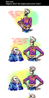 Undertale ask blog: power naps by neonUFO