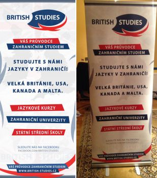 BRITISH STUDIES - Roll-up banner by Ingnition