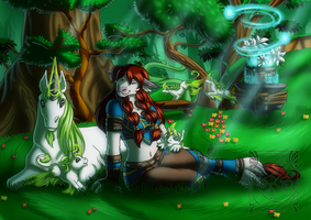 Field of Dreamers by LadyRosse