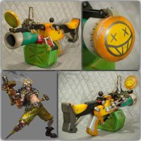 Junkrat Grenade Launcher (Overwatch) by CheesyKnight
