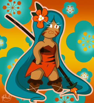Tiger Lily Cookie by Pepsi-Meth
