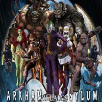 Batman: Arkham Asylum Villains by Carpe-iocus-32
