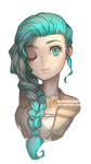 Turquoise by BloodlineV