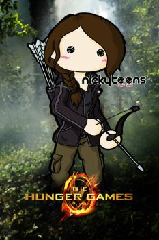 the Hunger Games: Katniss Everdeen by NickyToons