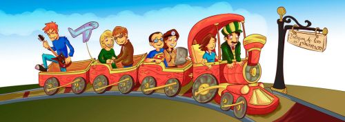Family Train by Furui-Raion