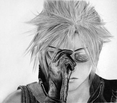 Cloud Strife by KLSADAKO