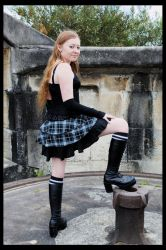 of lace and tartan 01 by SilverTalion