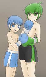 Boxing Bros by AzaSket
