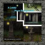 A lonely Moon stock Pack by Ecathe
