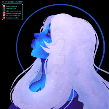 Steven Universe | Blue D | Collab w/47shadesofblue by H0nk-png