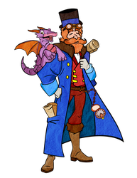 Dreamfinder and Figment by Generalorder4