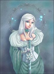 Vassilissa_ frozen beauty by Chpi