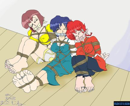 Homage to Rob Masamune's Ranma Doujin by DLShowtime