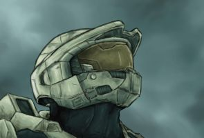 Master Chief - Halo 3 by SirDanielsArt