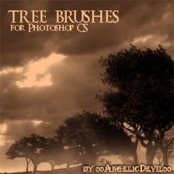 Tree Brushes for PS CS by 00AngelicDevil00