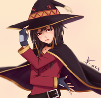 Megumin by Demonconstruct