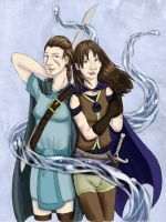 Sisters of Water by kcimaginary