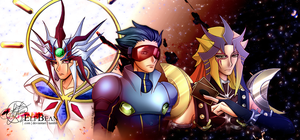 Yugioh 5Ds @ 5Ds project WIP by ElfBean