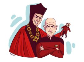 Captain Picard Day 2011 by TRAVALE