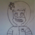 Sandy Cheeks Zombie(Starting Out) by bryanchris01