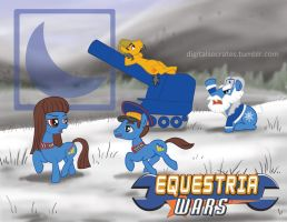 Equestria Wars - Blue Moon by digital-socrates