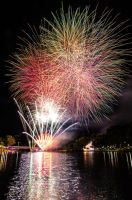Fireworks by the Torrens by Mickyjftw