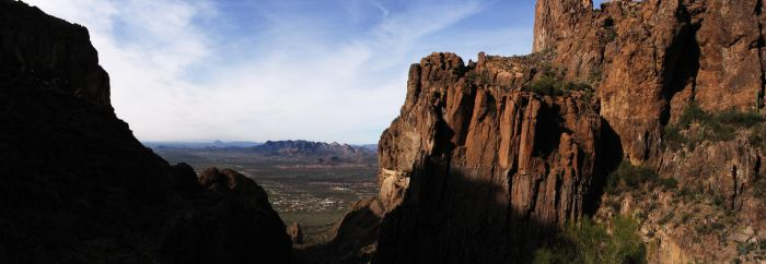 Superstition Mountain View by eRality