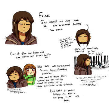 More about Frisk by shisuriyoko