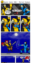 Spark Comic 28 - Mortal Kombat by SuperSparkplug