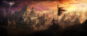 Light, shadow and war by NatMonney