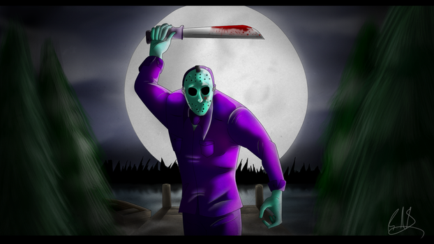 Friday The 13th NES Jason Voorhees  (Speedpaint) by ThePsychoticEnigma