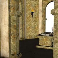 3D Stock - Temple 3 by yana-stock