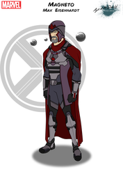 Magneto by Kyle-A-McDonald